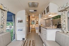 Midcentury Modern Airstream Trailer Is Great for Mobile Small-Space Living | Fresh Faces of Design | HGTV