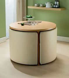 Mobilier modulable: Une table