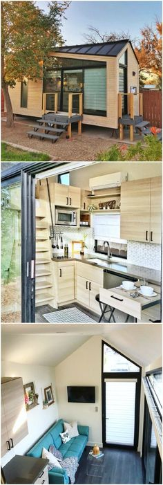 "Try out tiny house living in ""The Nest"""