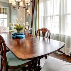 Traditional Dining Room by The Ramage Company