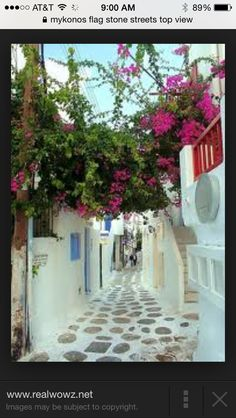 What about mykonos flag stone streets?