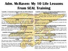Adm McRaven Urges Graduates To Find Courage Change The World My 10 Life