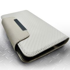 Insten Plain Leather Fabric Snap-on Phone Case Cover With Magnetic Flip For Samsung Galaxy Note 3 #1740504