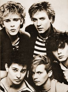 Duran Duran-this photo takes me back to the Night Versions album my sister and I bought which we played non-stop.