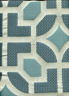 Geometric img9053 from LotsOFabric.com! This icy blue is cool and crisp with the texture and pattern of this piece. Upholstery projects or cornice boards would be gorgeous in this pattern! Order swatches online or shop the Fabric Shack Home Decor collection in Waynesville, Ohio.
