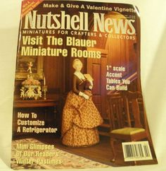 Nutshell News February 1997 by ConnieJoe on Etsy, $2.99