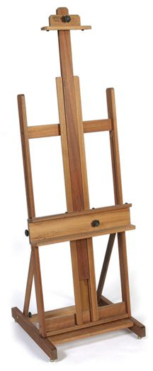 Finally a good quality easel I can afford. Jack Richeson Lyptus Wood Dulce Easel Standing Frame Holds Up To 7 Foot Canvas Floor Easel, Easels For Sale, Delta Art, Art Easel, Wooden Easel, Gifts For An Artist, Into The Woods, Art Furniture, Artist Painting