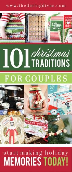 Protecting and working on your relationship is so important, especially if you have children! Here are 101 Christmas Traditions for Couples! #HappyHolidays #Christmas #Traditions