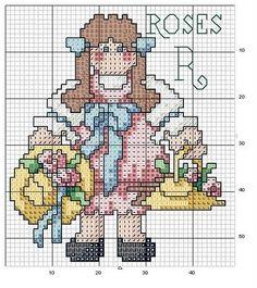 FREE Cross Stitch: Country