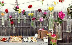 tuinfeest-decoratie-vaasjes