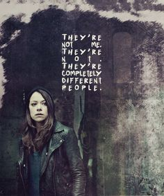 The role of a lifetime. Orphan Black, Sci Fi Series, Tv Series, Sarah Manning, Black Tv Shows, Tatiana Maslany, Bbc America, Pretty Little Liars, Best Shows Ever