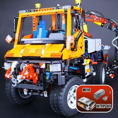 2017 New LEPIN 20019 2088Pcs Technic Truck Unimog U400 Model Building Kits Blocks Funny Bricks Compatible Toys 8110 for Children #Affiliate