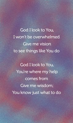 God I Look To You [Bethel Church] Jenn Johnson