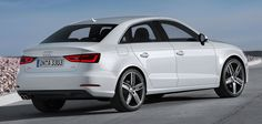 AUDI'S UPCOMING A3 SEDAN FACELIFT SPIED-DESIGN AND SPECIFICATIONS  Audi's upcoming A3 sedan facelift has been spied with front and rear covered body in Europe and the German based carmaker has been continuously testing the model to ensure whether the vehicle might be perfectly designed as well as developed with the preferred concept or not .
