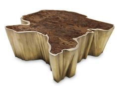 Sequoia Center Table - Brabbu   domino.com