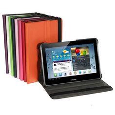 amazones gadgets T, 360 Degree Rotating PU Leather Case For Samsung Galaxy Tab 2 P5100: Bid: 18,52€ Buynow Price 18,52€ Remaining Negócio…