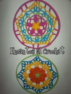 MANDALAS CROCHET - Crochet - Tejidos de Punto - 394621