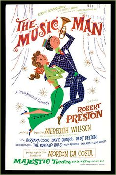 1958: The Music Man won Best Musical at the Tony Awards.