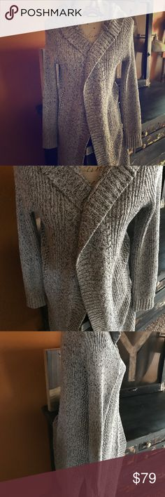 NWT Silver Jeans Oversized Cardigan Sweater S & M NWT Silver Jeans Oversized Maxi Cardigan Sweater,size Small & Medium Available. PRICE IS FIRM.. SOLD OUT . Silver Jeans Sweaters Cardigans