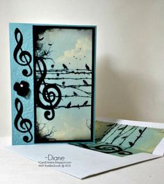 Just a Note by eyelike2cook - Cards and Paper Crafts at Splitcoaststampers