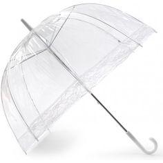 Lace Clear Dome #Umbrella