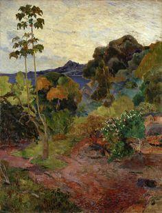 Martinique Landscape 1887, Scottish National Gallery_Paul_Gauguin,