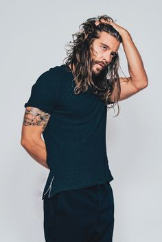 Long Hair Beard, Long Hair Cuts, Jack Greystone, Bart Trend, Hair And Beard Styles, Long Hair Styles, Long Hair Highlights, Undercut Men, Great Haircuts