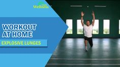 Workout at Home - Explosive Lunges
