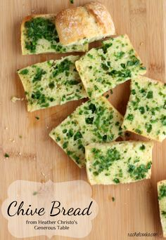 """Chive Bread - """"I feel so passionately about this idea of not just consuming food, but enjoying food."""""""
