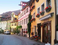 The town of Meersburg at Lake Constance, Germany.  Go to www.YourTravelVideos.com or just click on photo for home videos and much more on sites like this.