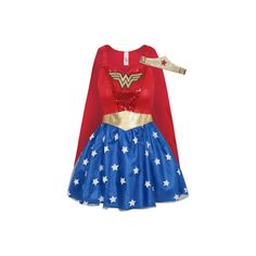 George Adult Wonder Woman Fancy Dress Costume (1.480 RUB) ❤ liked on Polyvore featuring costumes, red, superhero halloween costumes, adult superhero costumes, blue halloween costumes, adult costume and red halloween costumes