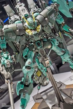 GUNDAM GUY: Gunpla Build World Cup (GBWC) 2014 Japan - Open Course Champion: Yoshihisa Miki 'Byarlant Custom Prototype Unit 2' Image Gallery