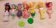 Vintage Kenner Rose Petal Place Dolls Collection | 11.51+7