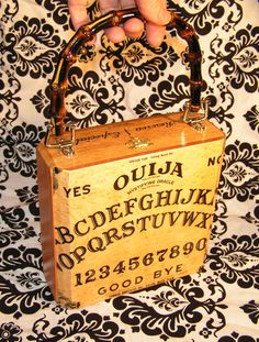 This would be a fun bag to carry on Halloween. - http://www.etsy.com/shop/NOXIOUSPUNX