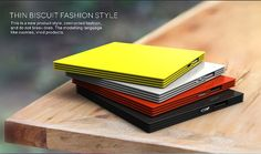 2016 ultra slim credit card power bank universal promotional power bank Best Colorful design Wholesale power bank