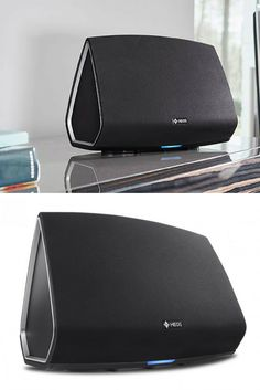 Denon HEOS 5 HS2 : Enceinte sans fil connectée, élégante et performante. Idéale pour la salle à manger et le bureau #Bluetooth #Denon #Multiroom #Bureau  http://www.laboutiquederic.com/enceintes-wifi/943-denon-heos5-hs2-enceinte-sans-fil-reseau-dac-hd-noir-4951035053348.html