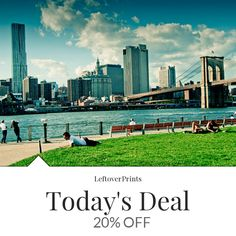 20% OFF A Sunday Afternoon on the Island of Manhattan - New York City, Brooklyn Bridge scenery art print - 12x18 Premium quality METALLIC paper Buy now: https://www.etsy.com/listing/89513381?utm_source=Pinterest&utm_medium=Orangetwig_Marketing&utm_campaign=daily%20sale  Follow us on Pinterest to be the first to see our exciting Daily Deals.   #travelgram #traveldiaries #sightseeing #travelphotography #holiday #wanderlust #roadtrip #adventure #motivation #inspiration #architecture #building…