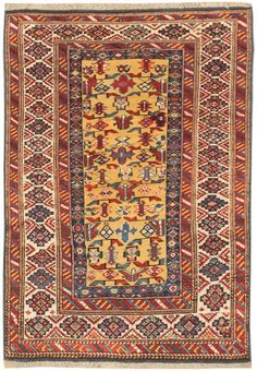 Antique Kuba Caucasian Rug 47058 Nazmiyal - By Nazmiyal #antiquerugs #rugs…