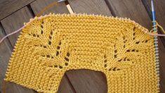 tutorial puntomoderno.com #diy #como tejer jersey de bebé #how to knit baby jersey Baby Boy Knitting Patterns, Baby Sweater Knitting Pattern, Baby Hat Patterns, Knitting Stiches, Knit Patterns, Baby Sweaters, Crochet Designs, Couture, Manga Raglan