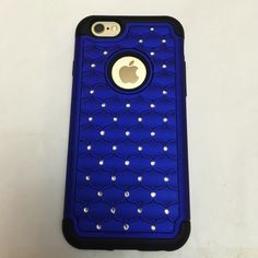 iPhone 6 and iPhone 6S Case Blue and black 2 piece case for iPhone 6 and iPhone 6S.  iPhone not included. If interested in making an offer, please use the offer option!! Accessories Phone Cases