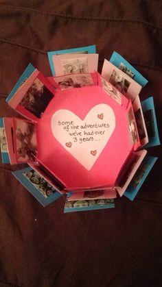 My Photo Explosion ~ Best friend's gift ~ #gift #bestfriend #homemade