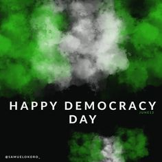 Happy democracy day  #DemocracyDay #nigeriancreatives #flier #graphicdesign #graphics #buhari Graphic Design, Day, Creative, Visual Communication