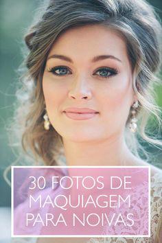 Maquiagem para noivas: 30 ideias de maquiagens elegantes, modernas e clássicas para noivas.