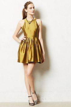 This is on sale at Anthro right now. is it too gold and not mustard enough? too flashy?