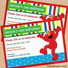 Elmo invitations printable elmo invitations elmos world digital free elmo party invitation solutioingenieria Choice Image