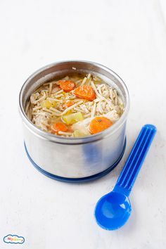Warm up with this classic Crockpot Chicken Noodle Soup! Let the Crockpot do the work and come home to dinner that& already done. Easy and delicious! Lunch Recipes, Real Food Recipes, Crockpot Recipes, Soup Recipes, Pasta Recipes, Yummy Recipes, Chicken Recipes, Dinner Recipes, Healthy Recipes