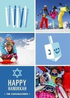 Hanukkah Gifts - Folded Photo Cards