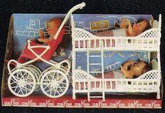 Wandelwagen met stapelbed van de firma Oskar uit 1966