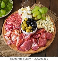 Deli Platters, Catering Platters, Party Food Platters, Bacon Jerky, Antipasto Platter, Food Decoration, Charcuterie Board, Food Presentation, Italian Recipes