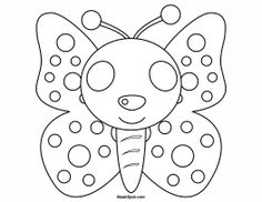 Butterfly Mask to Color